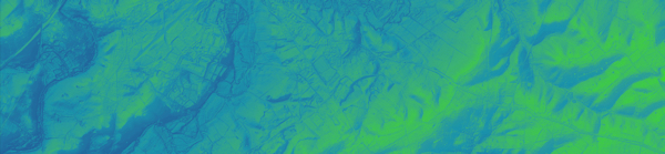 Extract 1 from the EA 2m LiDAR data composite