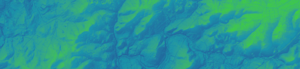 Extract 2 from the EA 2m LiDAR data composite