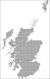National soil inventory of Scotland map